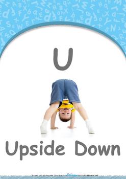 Animals - Animal Sounds : Letter U : Upside Down - Nursery (2 years old)