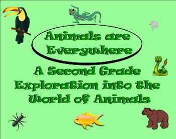 Animals Are Everywhere: A Second Grade SmartBoard Review