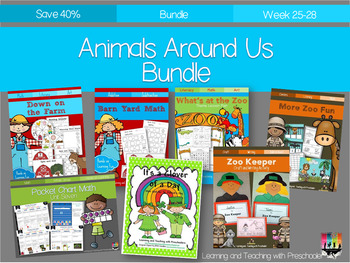 Animals Around Us Bundle