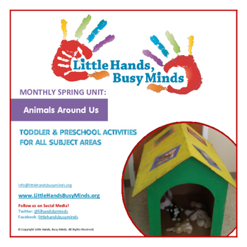 SPRING Activities: Animals Around Us: Monthly Thematic Unit