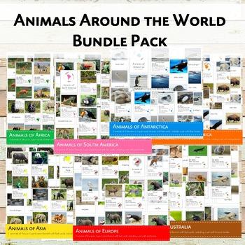 Animals Around the World Bundle Pack