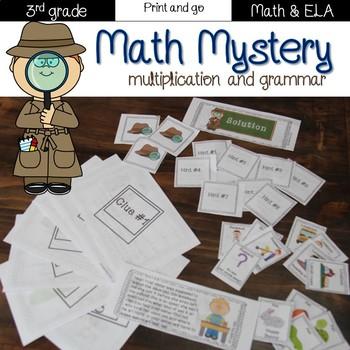 Animals Astray: Multiplication and Grammar mystery