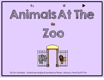 Animals At The Zoo - fun summer unit