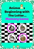 Animals Beginning with the Letter... Memory Game
