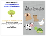 Animals Book - Guided Reading Level aa/A