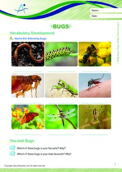 Animals - Bugs: Why I Hate Bugs - Grade 5