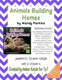 Animals Build Homes Supplemental Activities 2nd Grade Journeys Unit 2, Lesson 6