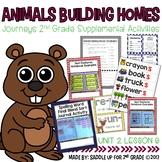 Animals Building Homes Journeys 2nd Grade Supplemental Activities
