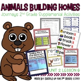 Animals Building Homes Journeys 2nd Grade Supplemental Activities