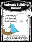 Animals Building Homes Journeys 2nd Grade (Unit 2 Lesson 6)