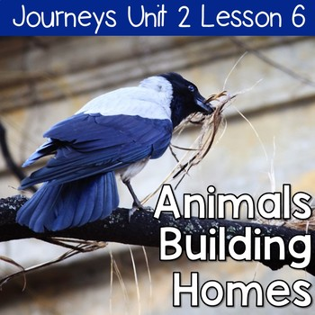 Animals Building Homes: Journeys Unit 2 Lesson 6 Supplemental Resources