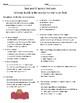 Animals Building Homes- Vocab & Comprehension Test (Journeys)