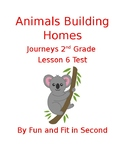 Animals Building Homes Assessment