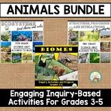 Animals Bundle:  Adaptations, Ecosystems, and Biomes