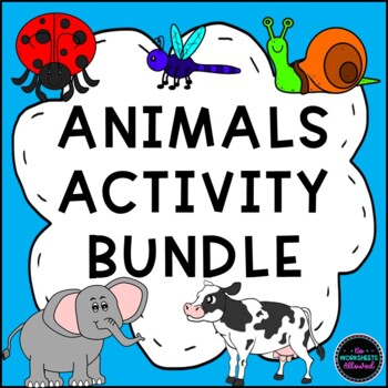 Animals Bundle: Farm Animals, Zoo Animals and Insects!