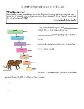 Animals By The Numbers: Mathematical Journey