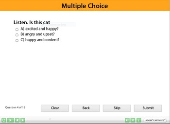 ESL resource: Animals (Caring for animals) Interactive Resource  2