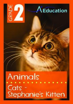 Animals - Cats: Stephanie's Kitten - Grade 2