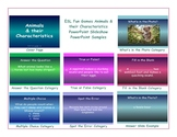 Animals-Characteristics PowerPoint Slideshow