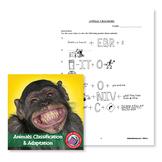 Animals: Classification & Adaptation: Animal Crackers Word Puzzles - BONUS
