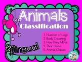 Animals Classification Clasificacion de Animales legs cove