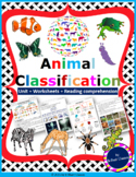 Animals Classification - Animal kingdom Unit with Worksheets