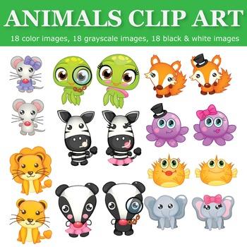 Animals Clip Art Set