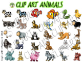 Animals Clip Art Collection