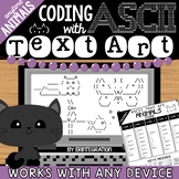Animals Coding with ASCII Text Art for Any Device