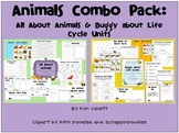 Animals Combo Pack: Animals, Insects and Life Cycles Units