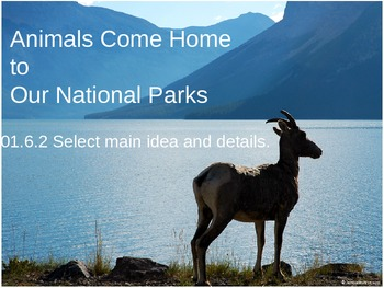 Animals Come Home Power Point