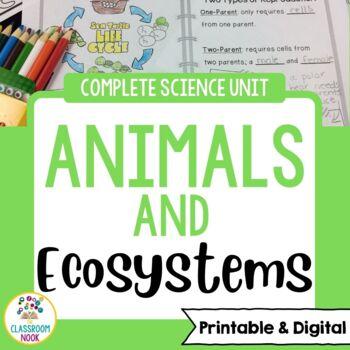 Animals {Complete Science Unit}