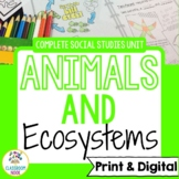 Animals Unit | Google Classroom Compatible | Distance Learning
