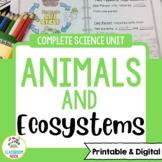 Animals Unit [Google Classroom Compatible]