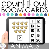 Animals Count It Out Adapted Books Boom™ Cards: Distance L