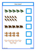 Animals Count, Sequence, Add, Subtract, Write & Wipe, Auti