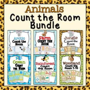 Animals Count the Room Bundle