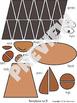Woodland Animals Craft Hedgehog - Template Cut and Paste