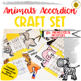 Speech Therapy Animals Craft Set for Phonological Processes