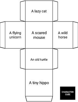 Animals Creative Story Writing Activity