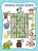 Animals (Crossword & Word Search)