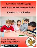 Animals - Curriculum‐Based Language Enrichment Worksheets & Activities