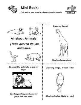 Animals - Curriculum‐Based Language Enrichment Worksheets & Activities