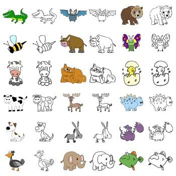 Animals - Digital ClipArt
