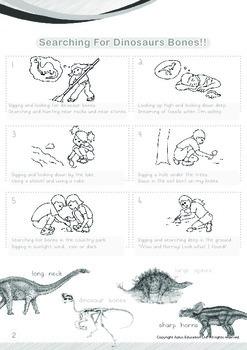 Animals - Dinosaurs (I): Searching for Dinosaur Bones - Grade 2
