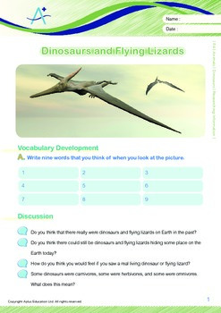 Animals - Dinosaurs (II): Researching Information - Grade 4
