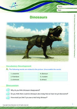 Animals - Dinosaurs (III): How Did Dinosaurs Defend Themselves - Grade 6