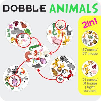 Animals Dobble (Spot It)