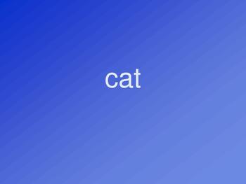 Animals ESL Vocabulary Presentation