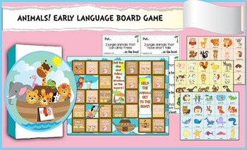 Animals: Early Language Pack 2